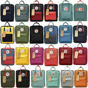 7L16L20L Fjallraven Kanken Waterproof sport Backpack Schoolbag Travel US STOCK