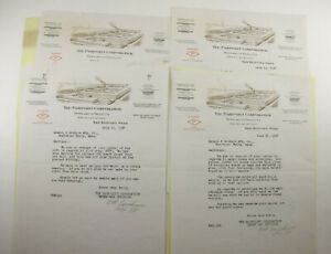1928 Lamson Goodnow Pairpoint Corp New Bedford MA Boxes Letters Ephemera P1041D