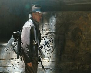Harrison Ford 'Indiana Jones 4 Crystal Skull' Autographed 8x10 photo with CoA