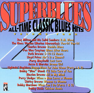 *NEW/SEALED* Stax Superblues Vol 4 CD All-Time Classic Blues Hits 1999 FAST SHIP