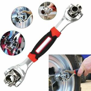 48-in-1 Tool Multi-function Socket Wrench Universal 360° Rotating Head Wrench.