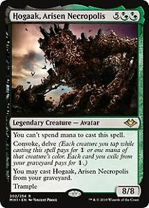Hogaak, Arisen Necropolis Modern Horizons NM-M Black Green Rare CARD
