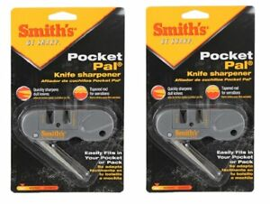 Smith's (2) Pocket Pal Multifunction Knife Sharpener, Straight & Serrated #PP1_2