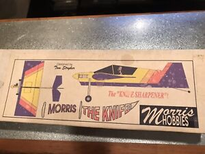 Morris The Knife R C Airplane Kit Plans With MANUAL.