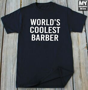 Barber Shirt Funny Christmas Birthday Gifts For Haircutter Hair Stylist T shirt