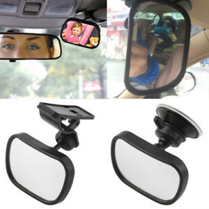 2 Site Car Baby Back Seat Rear View Mirror for Infant Child Toddler Safety TNIU