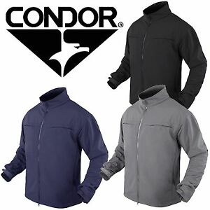 Condor 101049 Zippered Military Covert Softshell Lightweight Tactical Jacket
