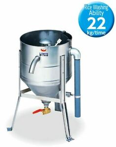New Water Pressure Rice Washer Easy Cleaner machine Made in Japan ability 22kg