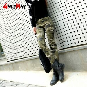 Military Style Cargo Pants For Women High Waisted 7Xl Plus Size Ladies Army Pa