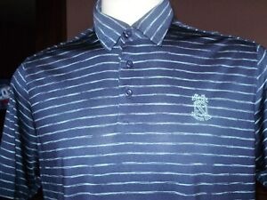UNDER ARMOUR POLO GOLF SHIRT golfing large COUNTRY CLUB LOGO $14.99