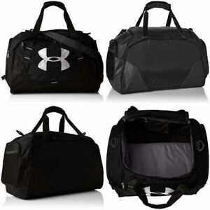 Under Armour Undeniable Duffle 3.0 Gym Bag BLACK 001 Silver X LARGE