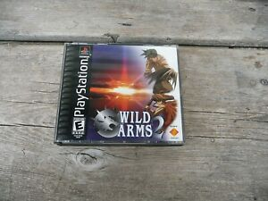 WILD ARMS 2 Playstation PS1 working