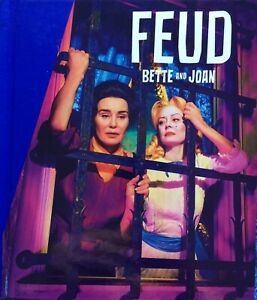 Emmy FX FYC FEUD: Bette and Joan Complete Series 3 DVD Set + PRESS BOOK - New!
