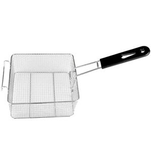 Square Stainless Food Colander Strainer Mesh Basket Kitchen Sieve Sifter