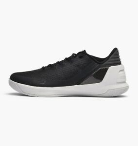 Under Armour Men's Curry 3 Low Athletic Basketball Shoes Black Grey $41.99