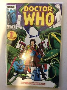 Doctor Who # 1 - NEAR MINT - 1st Collectors Item Issue MARVEL Comics SEALED RARE