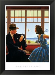 Jack Vettriano quot;Edith and the Kingpinquot; Framed Art 24x20