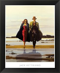 Jack Vettriano quot;The Road to Nowherequot; Framed Art 24x20
