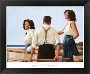 Jack Vettriano quot;Young Heartsquot; Framed Art 24x22
