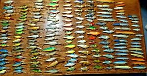 HUGE LOT OF 400 RAPALA FISHING LURES COUNTDOWN SHAD RAP FAT RAP