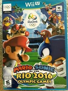 Mario & Sonic at the Rio 2016 Olympic Games (Nintendo Wii U, 2016) BRAND NEW
