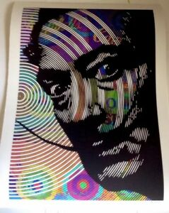 ANDY WARHOL LOST SERIES EDITION MR CLEVER ART Salvador Dali 18x24 $125.00