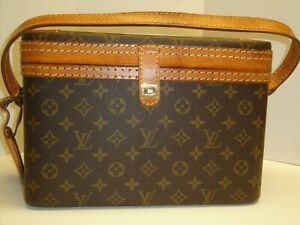 LOUIS VUITTON COSMETIC TRAIN CASE #841 GREAT CONDITION 12.5