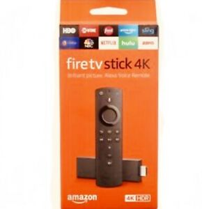 🔥Amazon Fire TV Stick 4K with Alexa Voice Remote Streaming Media 2018 🔥