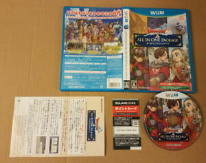 Dragon Quest X all-in-one package ver.1 ver.2 ver.3 Wii U, Complete, US Seller!
