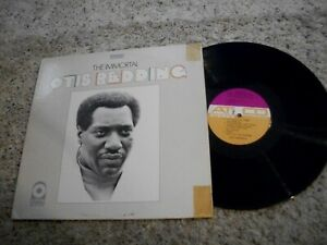 Otis Redding LP-The Immortal-1968-Atlantic-Purple/Tan Label-Near Mint