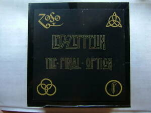 Used Led Zeppelin The Final Option Record 70 Complete Items 150 Sets Only Rare C