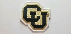 COLORADO UNIVERSITY BUFFALO'S (Iron or Sew On) Embroidered Patch