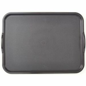 Cambro Camwear Nonskid Tray Smoked Metal 18quot;L x 14quot;W $41.78