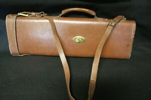 Antique Red Head Brand Rifle Hard Leather Case