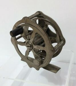 Antique unmarked Winchester ? Hendryx skeleton fly fishing reel