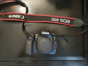 CANON EOS 80D 24.2 MP CAMERA W50MM LENS PRE-OWNED