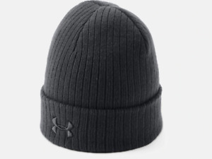 Under Armour Mens Tactical Stealth 2.0 Beanie Mens Stocking Cap Blackout Beanie