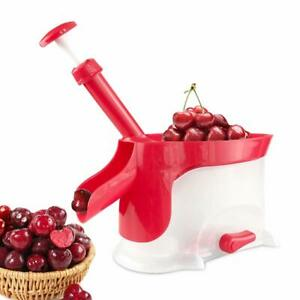 Cherry Pitter Cherry and Olive Pit Corer Fruit Pitter Stone Remover Tool Upgrade