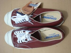 Converse Jack Purcell Mens Size 8.5 Leather Brown New Made In U.S.A.