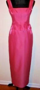 Adrienne Papell Pink Full length Formal Dress Size 4P $14.92