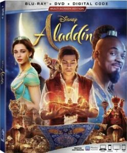 ALADDIN(BLU-RAY+DVD+DIGITAL)W/SLIPCOVER NEW