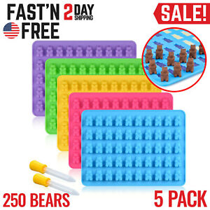 Gummy Bear Mold Candy Making Supplies Ice Chocolate Maker Silicone 100% BPA Free