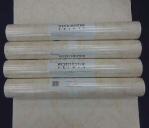 Traditional Tone on Tone Wallpaper Damask Beige #43605-3 (Lot of 4 Double Rls)