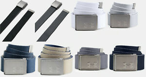 Under Armour UA Webbing 2.0 Reversible Belt Men's Webbed Golf Adjustable OSFA $21.99