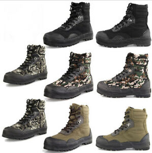 New Outdoor Men's Tactical Hunting Boots Climbing Sport Hiking Camouflage Shoes