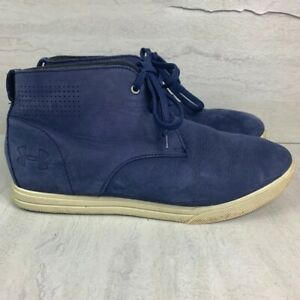 Under Armour chukka shoes boots kids size 5.5 youth