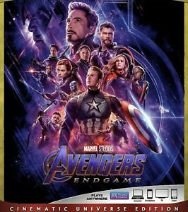 AVENGERS:ENDGAME(BLU-RAY+DIGITAL) READ DESCRIPTION