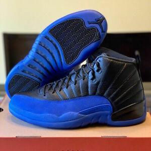 Nike Air Jordan 12 Retro XII Game Royal BlueBlack 130690-014 Size 4-13