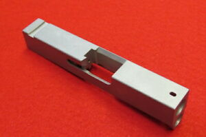 Stainless Steel Pistol Slide For Glock 43. 9mm Stripped Blank.