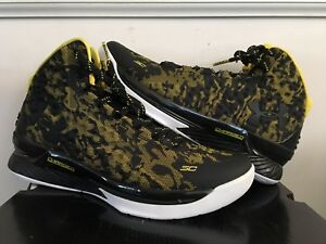 Under Armour UA Curry 1 Away Black Taxi Camo Dub Nation Dark Matter B2B MVP 8.5